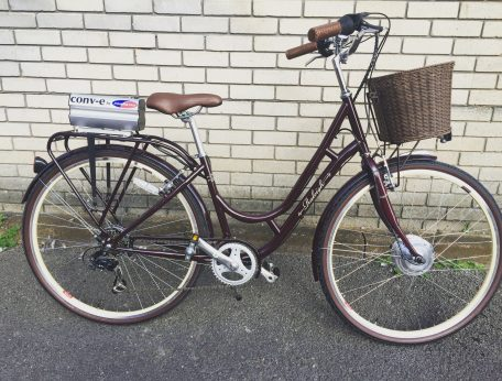 conv-e conversion kit on Raleigh Cameo