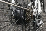 W100 Rear Motor Wheel
