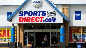 Sports Direct Shop Front