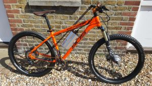 Whyte MTB with Conv-e conversion