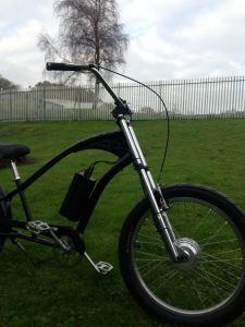 Electra Chopper conversion electric bike
