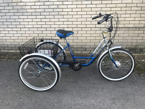 Tricycle Deluxe Side on