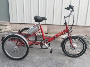 Pashley Tri-1 Tricycle conversion