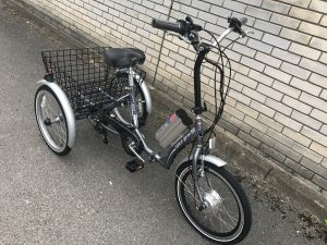 Space Genie Trike Conversion with conv-e front angled