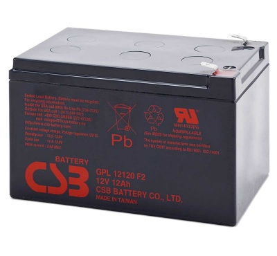 12v 12amp Lead acid battery for electric bike