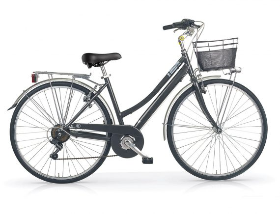 "Central ladies hybrid bike titanium 28"" wheel"