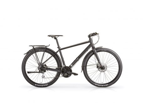 Maxilux gents 29er hybrid with rack and mudguards