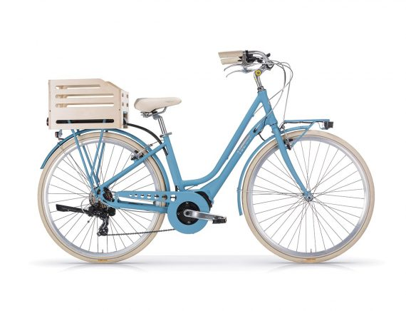 Aposthrophe Ladies EBike Sky Blue