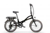 EMetro Folding Bike Black