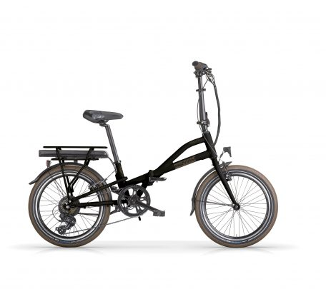 EMetro Folding Electric Bike Black