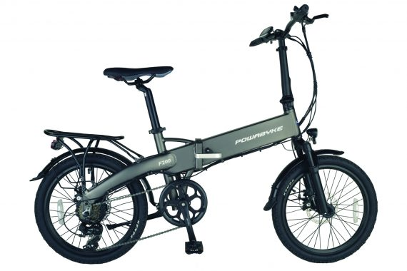 F200 Folding electric Bike from Powabyke
