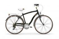Vintage Gents Hybrid 21 Speed Black and Brown