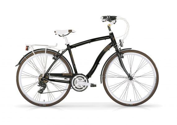 Vintage Gents 21 speed Hybrid black and brown