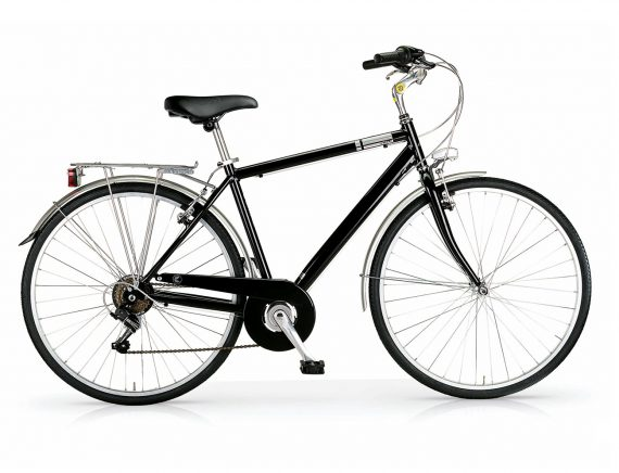 MBM Central gents hybrid bicycle black