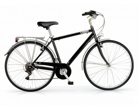 MBM Central gents hybrid bicycle black