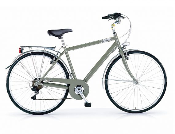 MBM Central gents hybrid bicycle MILITARY GREEN