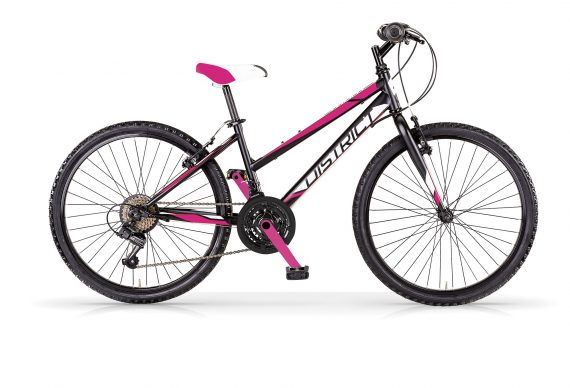 "MBM District 24"" Wheel MTB Pink and Black"