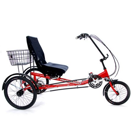 Semi Recumbent Trike Tricycle