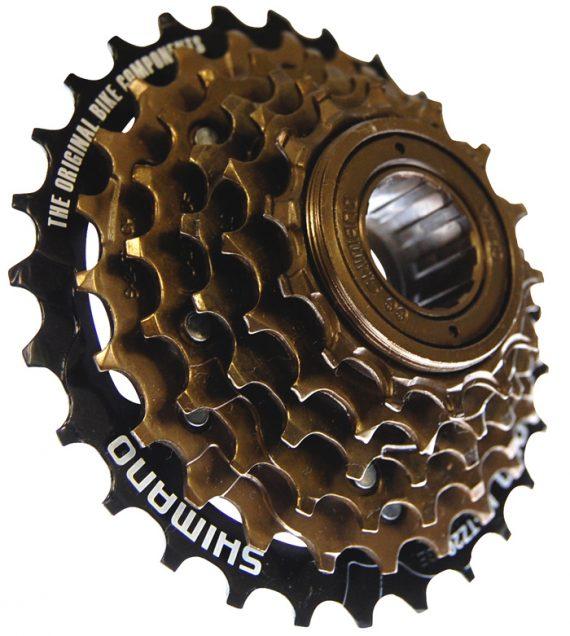 Shimano MF TZ500 6 speed Freewheel 14-28T